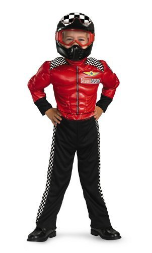 Bike Race Halloween World (Turbo Racer Boys Costume, 4-6)