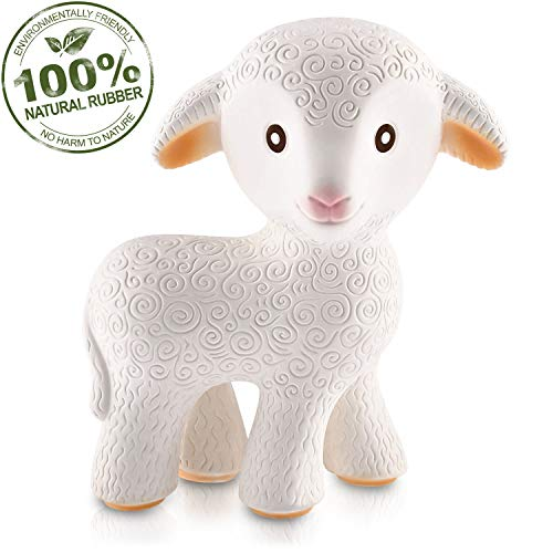 Pure Natural Rubber Baby Teether Toy