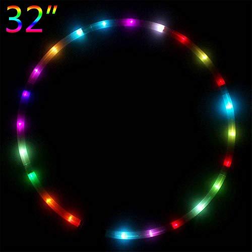 Led Light Up Hula Hoops in US - 9