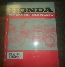 1993 1994 1995 1996 1997 1998 1999 honda trx90 service repair shop rh amazon com honda trx 90 service manual pdf honda trx 90 service manual pdf