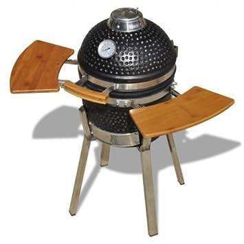 BBQ Inc Grande carbón vegetal barbacoa ahumador al aire libre cocina jardín fuego Pit patio barbacoa