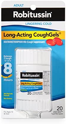 Cough & Sore Throat: Robitussin CoughGels