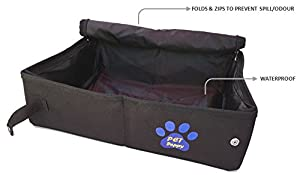 5. Pet Peppy Portable Litter Box for Cats