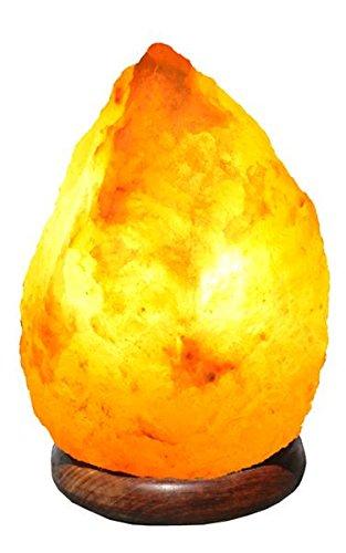 """Kristallsalz-Lampe /""""naturell/"""" mit Elektrik Salzlampe Salzleuchte"""