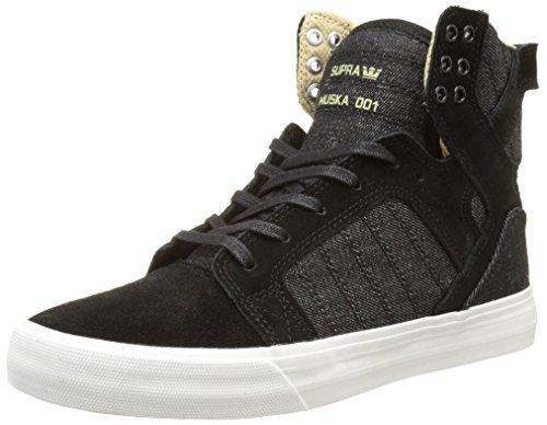 Supra Chaussure Mixte-erwachsene Skytop Classique Noir (noir-blanc)