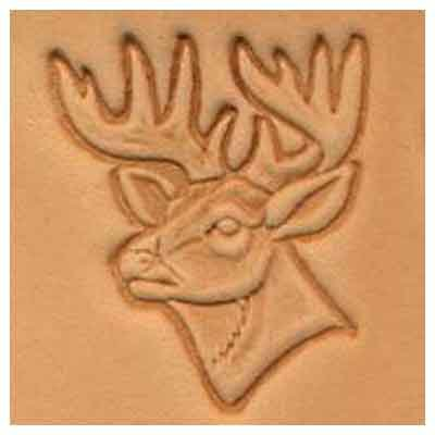 Springfield Leather Company Running Horse 3D Leather Stamp Left Facing