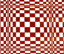 Chocolate Transfer Sheet: Red Checkerboard. 2 Sheets