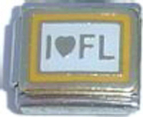 I Love Florida Italian Charm - Florida Italian Charm