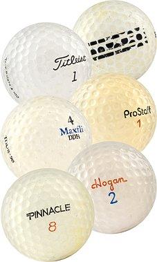 300 D Used Range Ball Hit Away Golf Balls Practice Shag