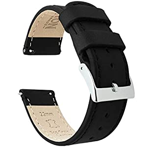 Barton Quick Release – Top Grain Leather Watch Band Strap – Choice of Width
