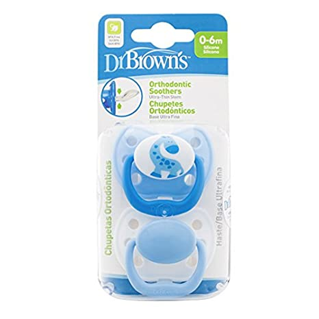 Dr. Browns Orthodontic - Chupete, T1 0-6meses