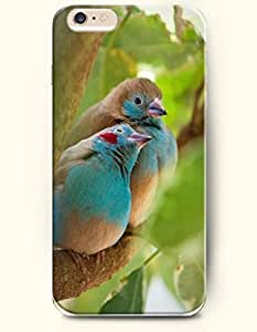 Apple iPhone 6 Case ( 4.7 inches) with Design of The Parent Bird And Its Baby - Cute Design -OOFIT Authentic iPhone Skin