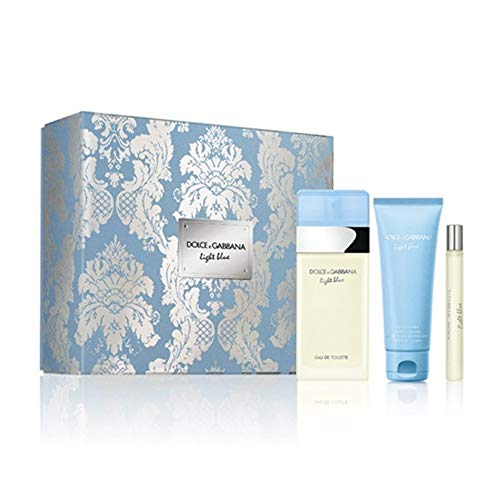 Dolce Gabanna DG Light Blue Edt V 100 ml+Bc75+Vp10