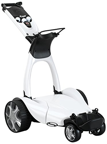 Stewart Golf X9 Follow Electric Golf Cart, White