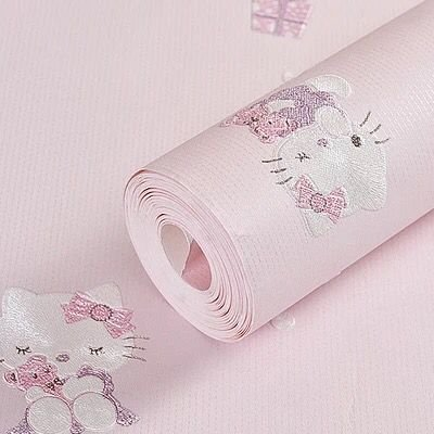 Jzmmcd Korean Cute Cartoon Children S Room Non Woven Wallpaper