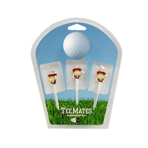 Ncaa Texas Longhorns Golf Tee - Team Golf NCAA Texas Longhorns 3-D Team Golf Tees (3 Count), 2-3/4