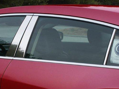 (QAA FITS Lacrosse 2010-2016 Buick (6 Pc: Stainless Steel Pillar Post Trim Kit, 4-Door) PP50521)