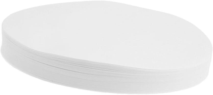 Diameter 7-15cm Circular Ashless Quantitative Filter Paper 30-50um Medium White 7cm