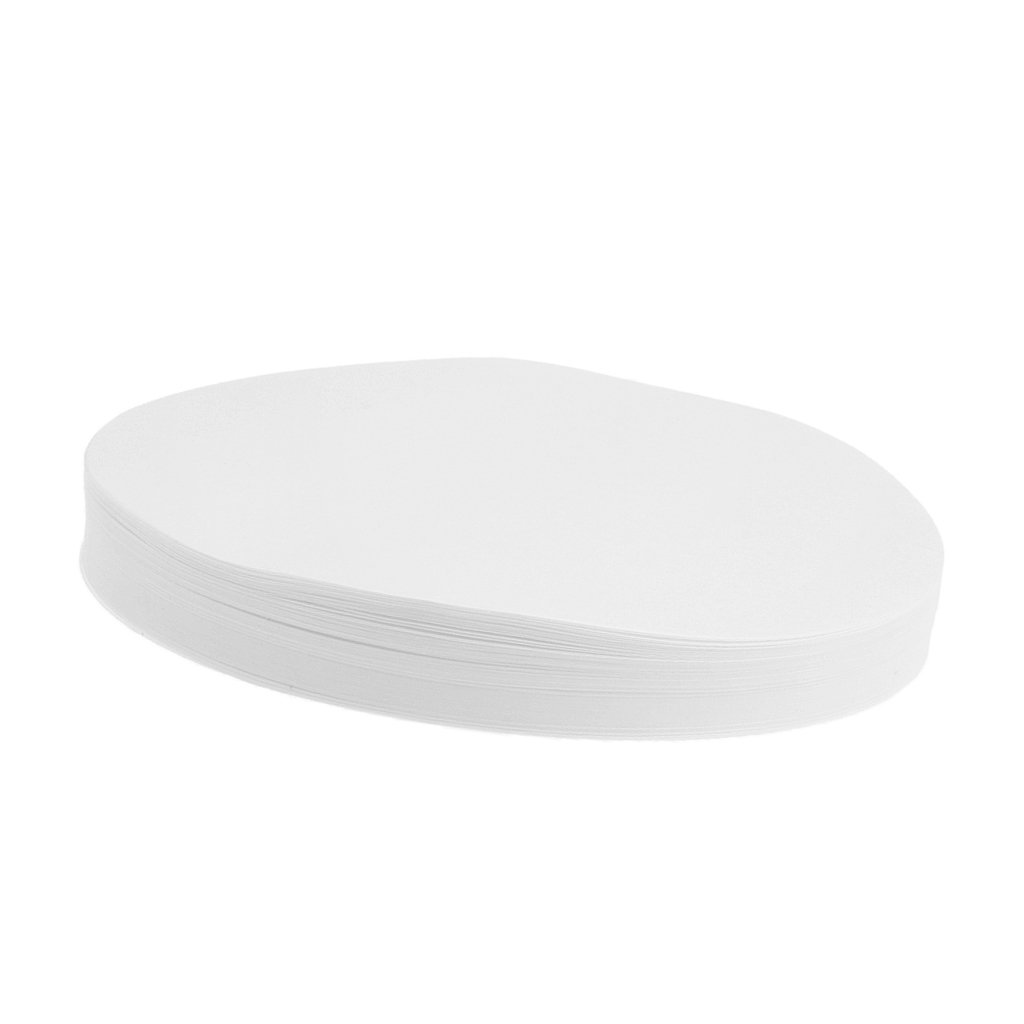 perfk Diameter 15cm Round Quantitative Filter Papers Slow Lab Filtration Supplies Ash Content Less Than 0.0009%