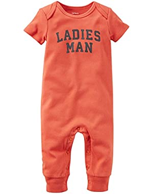 Carter's Baby Boys' Jumpsuit-Ladies Man
