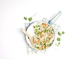 GreenPan Focus 12'' Ceramic Non-Stick Open Frypan, Turquoise