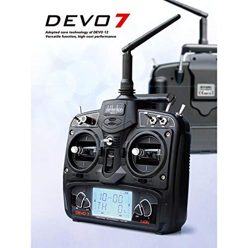 Walkera devo-7Controller Remote Control for Drone, Black