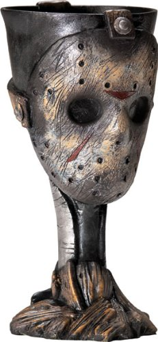 Halloween Movie Memorabilia (Rubie's Friday The 13th Jason Voorhees Drinking Party)