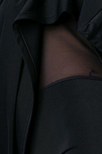 luxury & good Dessous - Traje de una pieza - para mujer negro/blanco