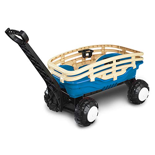(American Plastic Toys Deluxe Runabout Stake Wagon)