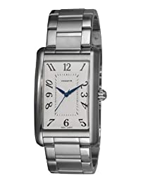 Coach Mens 14600964 Lexington White Guilloche Dial Watch