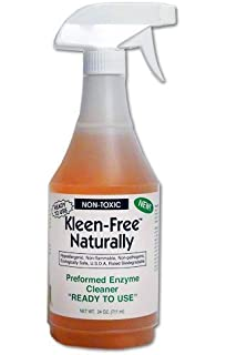 Kleen-Free Naturally Preformed Enzyme Cleaner (Original, 24-Ounce Ready-to