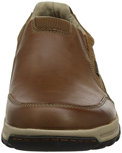 Marrón Mocasines Waterproof Trail Slipon Hombre Tan Rockport para Technique T0xnI