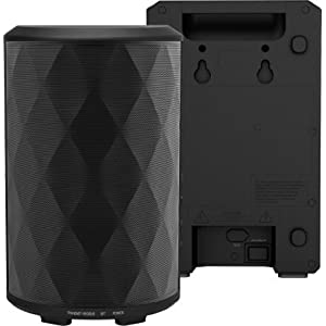 Monster BTW249 40W High Performance Indoor/Outdoor Bluetooth Speakers, Expandable up to 8 Speakers, Water Resistant, and Wall Mountable (Two Speakers Included)