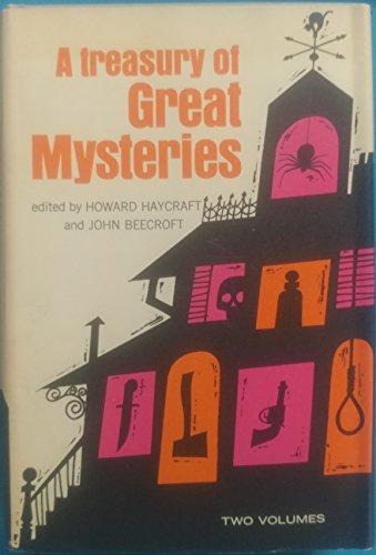 A Treasury of Great Mysteries. Volume 2 Edited By Howard Haycraft & John Beecroft 1957