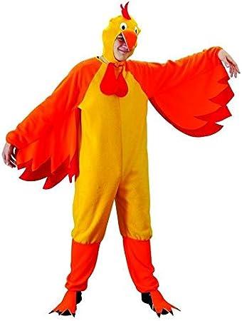 Foxxeo Disfraz de Pollo para Adultos, Talla:XXL: Amazon.es ...