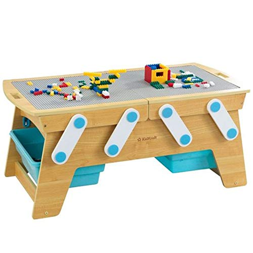 KidKraft Building Bricks Play N Store - Kids Older For Table Lego