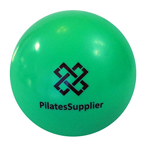 "Pilates 4"" (10cm) Accessory Mini Ball for AeroPilates, Yoga, Fitness, Strength, Pilates Reformer or Mat Pilates GREEN"