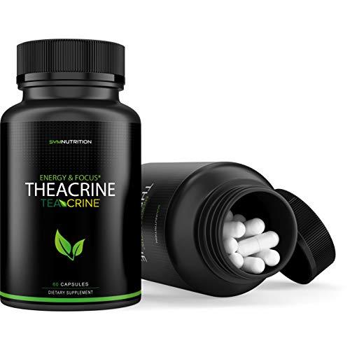 Theacrine 100mg as Teacrine™ - 60 Count   Better Than Caffeine   Taken for Better Focus, Energy, Mood & Motivation   V-Capsules