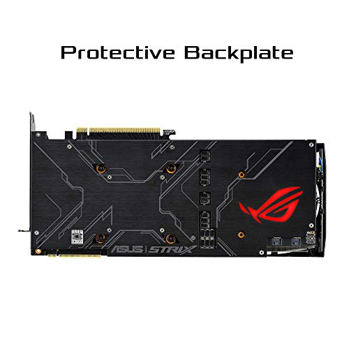 ASUS ROG Strix GeForce RTX 2080 Super Advanced Overclocked 8G GDDR6 HDMI DP 1.4 USB Type-C Gaming Graphics Tarjeta (ROG-STRIX-RTX-2080S-A8G)