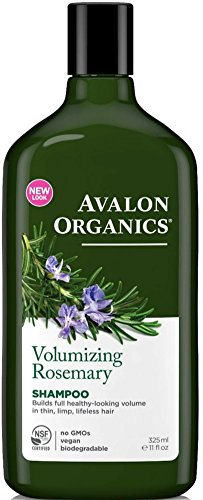 (Avalon Organics Volumizing Shampoo, Rosemary 11 oz (Pack of 10))