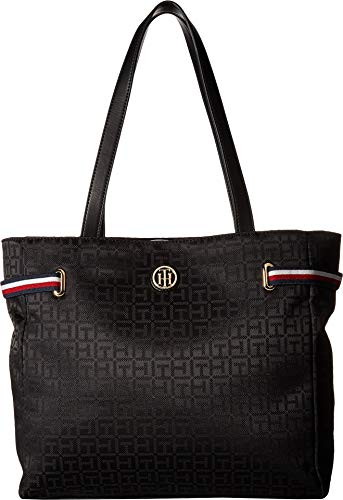 Tommy Hilfiger Women's Sanford Tote Black One Size