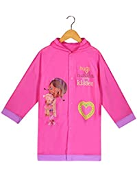 Doc McStuffins Girls Pink Rain Slicker Raincoat (M(4/5))