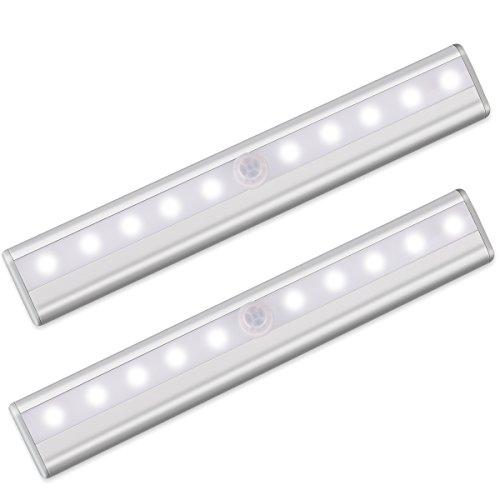 morpilot motion sensor closet light led cabinet light battery operated night light portable. Black Bedroom Furniture Sets. Home Design Ideas