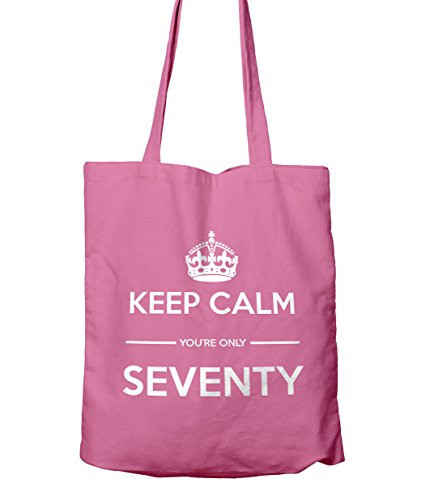 You're Bag Keep Only Shopping Calm 70 Gift Tote Pink True 7Owgx1ZwqA