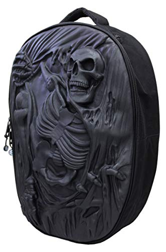 Spiral - Death Re-Ripped - Backpack - 3D Latex with Laptop Pocket
