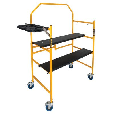 Metaltech I-IMCNT Job Site Series x 4 x 2 ft. Scaffold 500 Lb. Load Capacity, 4-3/4' x 4' x 2'