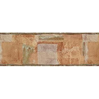 "Wallpaper Border Abstract 8"" x 15' OS24561B - - Amazon.com"