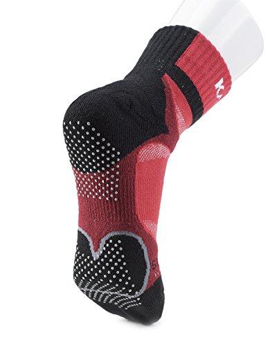 Rouge Karakal X4 noir Ankle Chaussettes qyYcfX