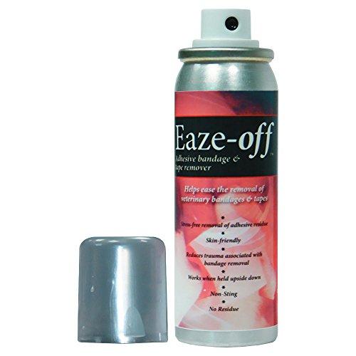 Millpledge Eaze-Off Adhesive Bandage Tape Remover 200ml Non Toxic Non Stinging - Non Toxic Adhesive Remover