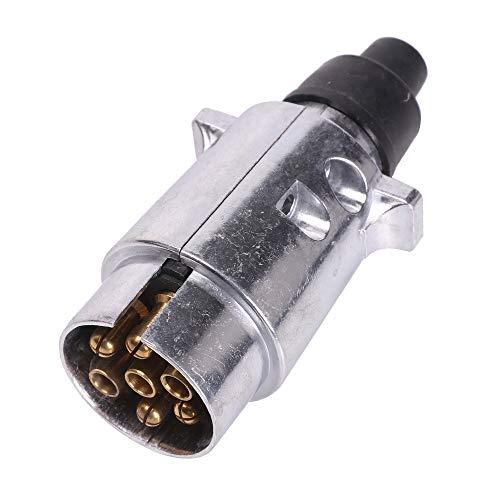 Aohewei 7-pins trailer plug of socket aluminium legering
